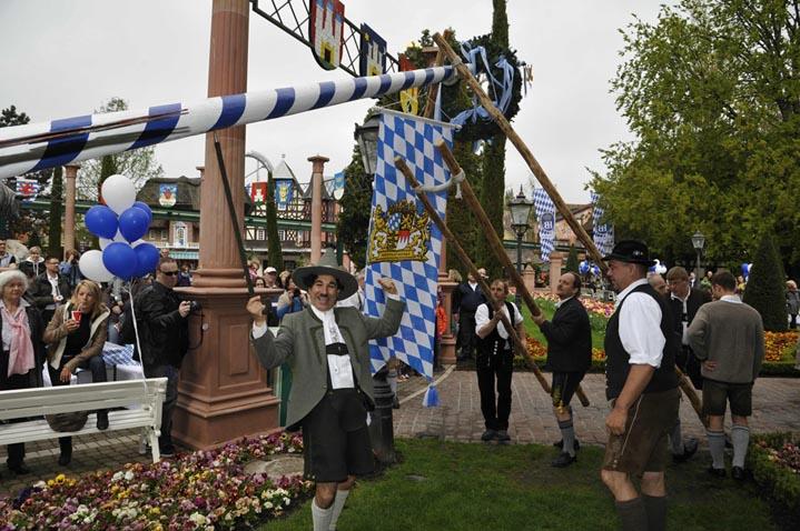 Maifest im Europa-Park. Bild: Europa-Park