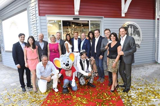 Glamouröse Shop-Eröffnung mit Familie Mack, Familie Finkbeiner, Dieter Bohlen und Carina Walz. Bild: Europa-Park