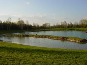 Der Badesee beim Europa-Park Camp Resort