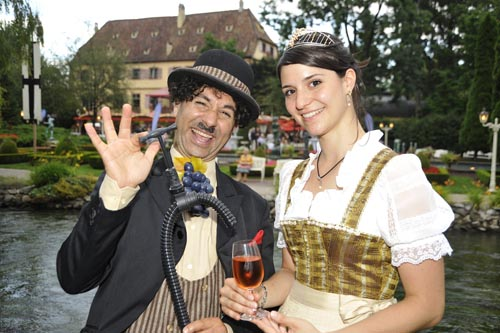 Auf erlesene Tropfen können sich die Besucher beim Badischen Weinfest freuen. Bild: Europa-Park