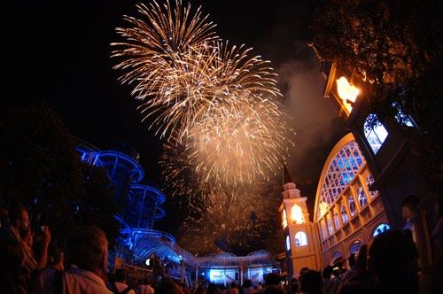 Das große Feuerwerk. Bild: Europa-Park