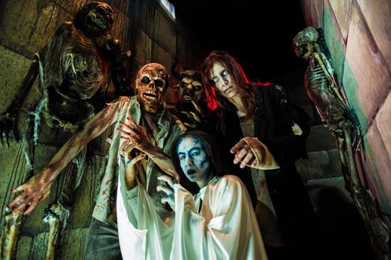 Die Horror Nights im Europa-Park. Bild: Europa-Park
