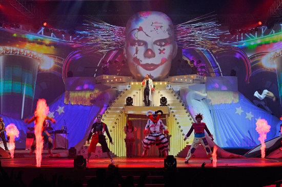 "DJ Bobo: ""Halloween Circus"" - Bild: Europa-Park"