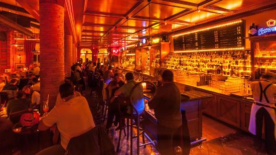 Die Bar im Hotel Colosseo. Bild: Europa-Park