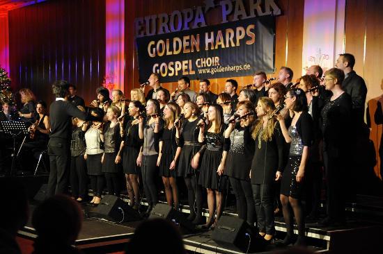 "Der Gospelchor ""Golden Harps"" - Bild: Europa-Park"