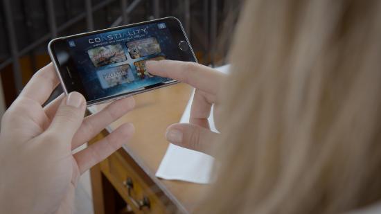 Die Coastiality-App für das eigene Smartphone. Bild: Europa-Park