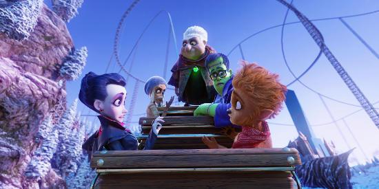 "Ab geht die Fahrt mit der ""Happy Family"" (360-Grad-Animation auf ""Pegasus Coastiality""). Bild: Europa-Park / Mack Media"