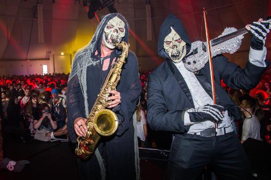 Die SWR3 Halloween-Part im Europa-Park. Bild: Europa-Park