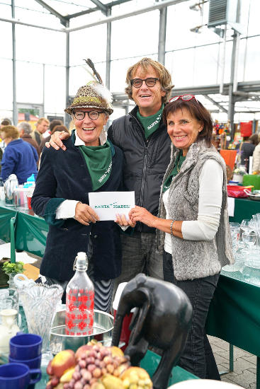 Das Santa Isabel e.V. Team - Barbara Dickmann, Dr. Michael Thoma und Marianne Mack (v.l.). Bild: Europa-Park