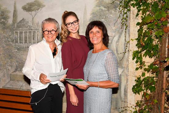 Barbara Dickmann, Christiane Stenger und Marianne Mack (v.l.). Bild: Europa-Park