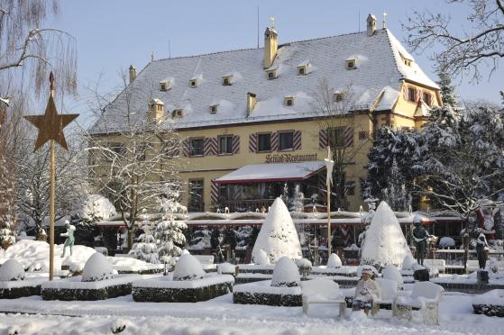 Winter im Europa-Park. Bild: Europa-Park