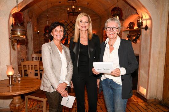 Marianne Mack, Nina Ruge und Barbara Dickmann (v.l.). Bild: Europa-Park