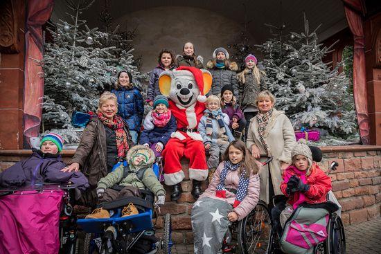 Aktion des Bundesverbandes Kinderhospiz - Bild: Europa-Park