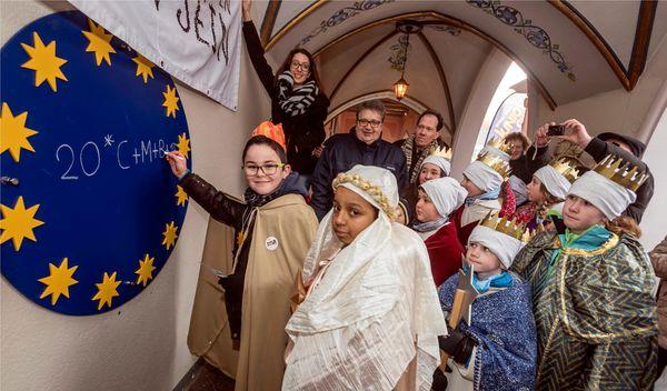 Die Sternsinger. Bild: Europa-Park