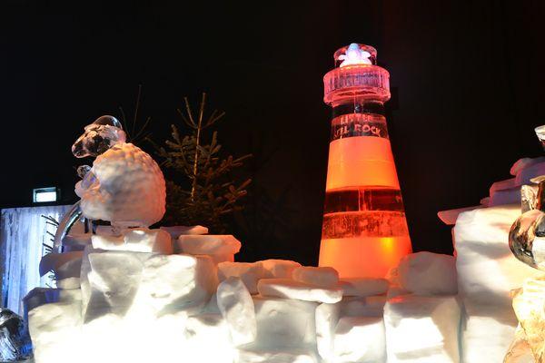 In der Eisausstellung 2016 findet sich auch der Irische Thembereich wieder.