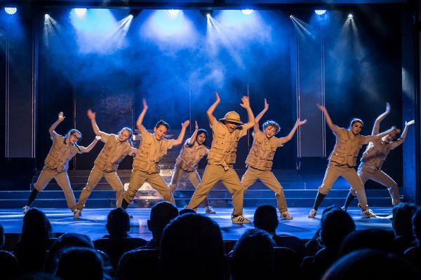 """Die """"The K. Crew"""" während eines Auftritts im Europa-Park. Bild: Europa-Park"""