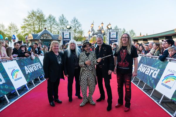 Der Radio Regenbogen Lifetime Award 2016 ging an The Sweet. Bild: Europa-Park