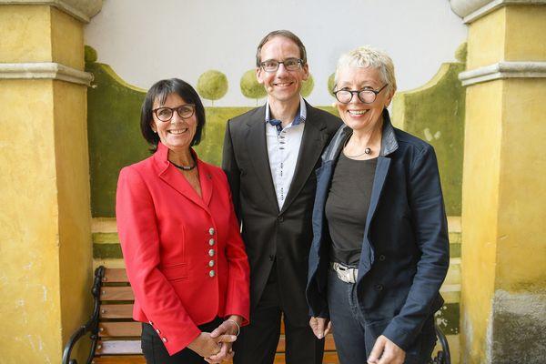 Marianne Mack, Matthias Herzog und Barbara Dickmann. Bild: Europa-Park