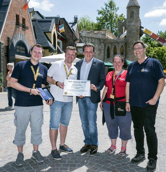 """Der Themenbereich """"Irland – Welt der Kinder"""" wurde mit dem FKF-Award ausgezeichnet. Bild: Europa-Park"""