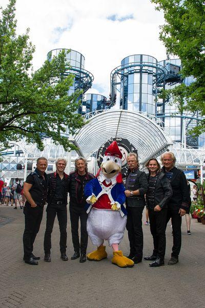 Höhner , Kölner Musikgruppe, bei Immer wieder Sonntags im Europapark in Rust am 18.06.17 - Bild: Europa-Park