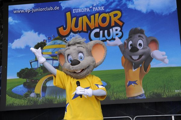 Der Europa-Park JUNIORCLUB auf Tour. Bild: Europa-Park