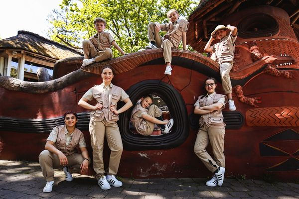 The K. Crew. Bild: Europa-Park