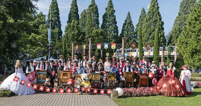 Europa-Park feiert das Schweizer Fest. Bild: Europa-Park