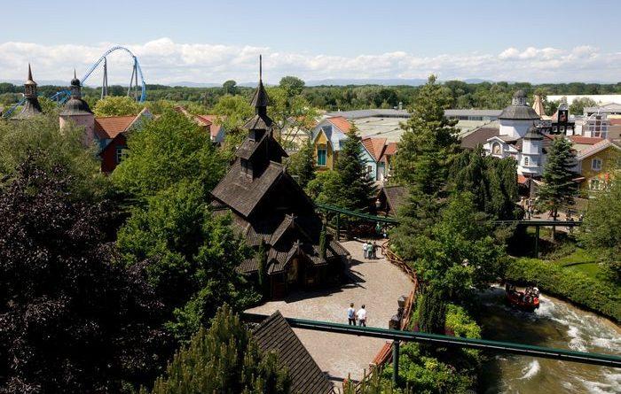 Die Stabkirche im Skandinavischen Themenbereich. Bild: Europa-Park