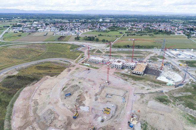 """""""Rulantica"""" im Bau, Stand September 2017. Bild: Europa-Park"""