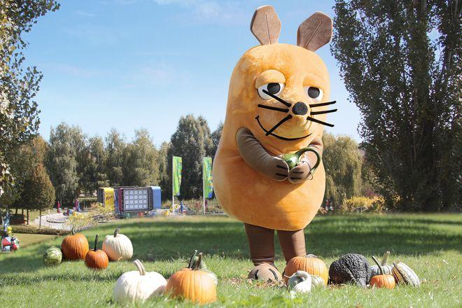 """Im Herbst können Kinder mit ihren Eltern das Ravensburger Spieleland besonders günstig erleben: Mit dem """"Herbstpass"""". Bild: Ravensburger Spieleland"""