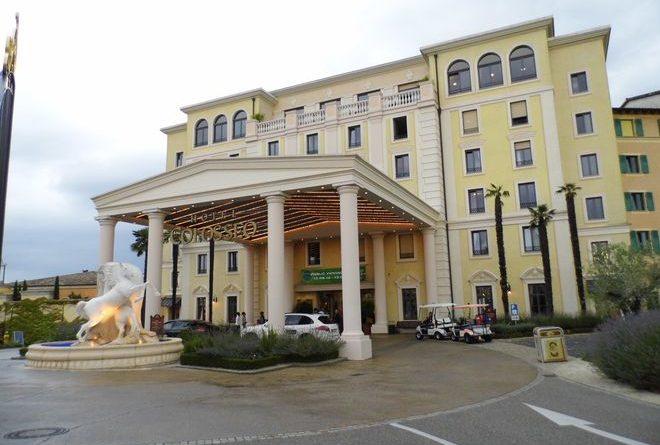 Das Hotel Colosseo im Europa-Park Hotelresort, zum stilvollen Übernachten und mit Konferenzräumen für ansprechende Veranstaltungen.