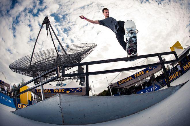 Die 20. Deutsche Meisterschaft im Skateboarden zu Gast im Europa-Park. Bild: Europa-Park