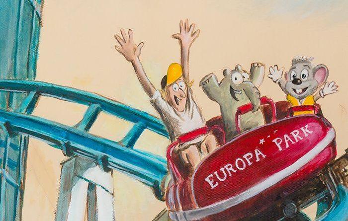 Otto und der Europa-Park. Bild © Ottifant Productions
