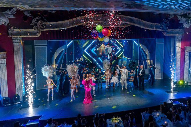 "Finale der Dinner-Show ""Cirque d'Europe"" im Europa-Park. Bild: Europa-Park"