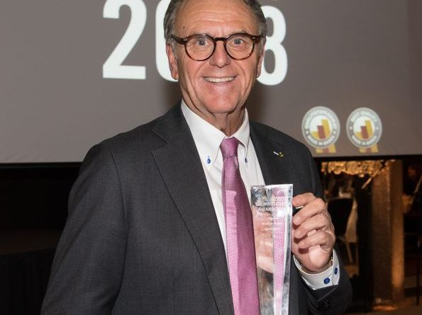 """Europa-Park Inhaber Dr.-Ing. h.c. Roland Mack erhält den """"Made in Baden Award"""". Bild: Europa-Park"""