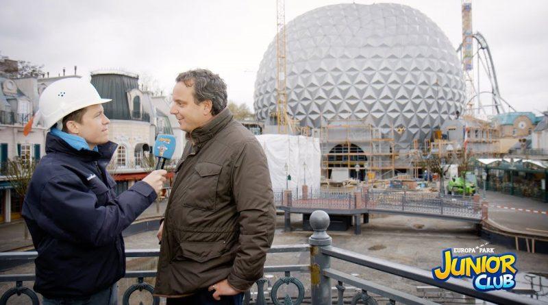 Der neue Eurosat mit Benedikt Weber – Europa-Park JUNIOR CLUB