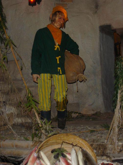 Einer der Piraten in der Szenerie.