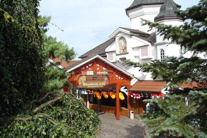 Das Skandinavische Dorf.