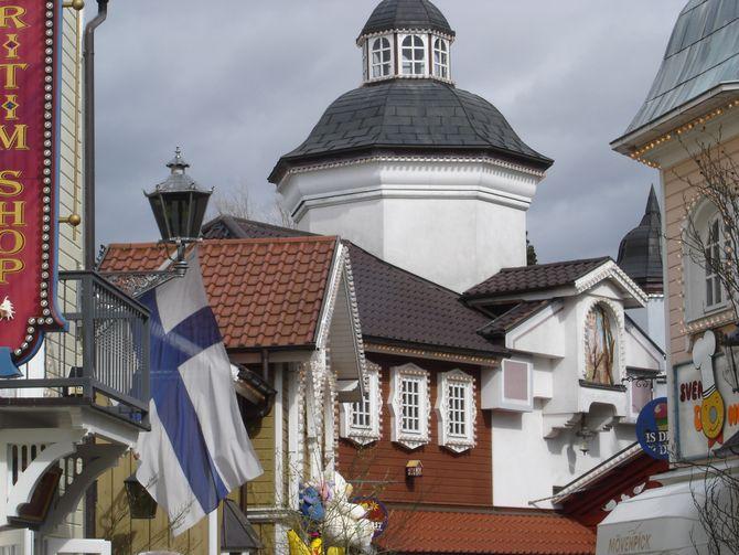 Der Skandinavische Themenbereich im Europa-Park vor seiner Zerstörung. Bild: Thorsten Reimnitz