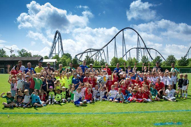Erfolgreiche Nachwuchstalente beim 17. Internationalen Europa-Park Cup des SV Rust. Bild: Europa-Park