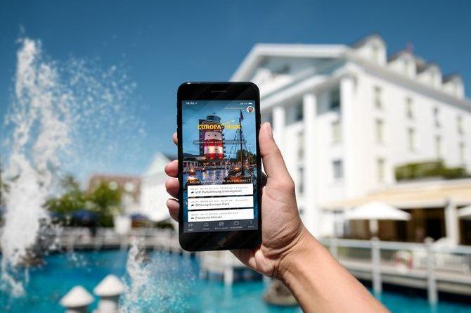 Die neue Hotel-App vom Europa-Park Hotelresort. Bild: Europa-Park