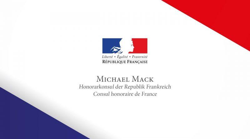 L'amitié n'a pas de frontières – Ernennung von Michael Mack zum französischen Honorarkonsul