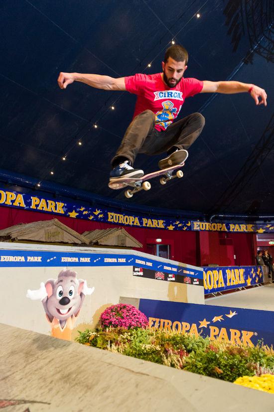 Deutsche Skateboard-Meisterschaften. Bild: Europa-Park