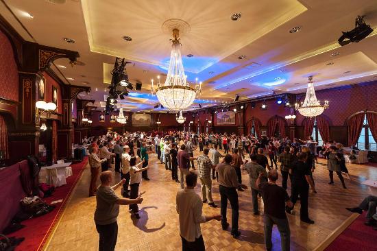 Diskofox-Workshop beim Euro Dance Festival. Bild: Europa-Park