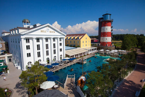 Hotel Bell Rock im Europa-Park Hotel Resort. Bild: Europa-Park