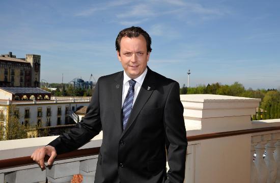 """Michael Mack – geschäftsführender Gesellschafter des Europa-Park und Preisträger in der Kategorie """"Top Next- Generation Entrepreneur"""". Bild: Europa-Park"""