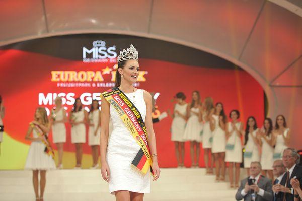 Die Wahl der Miss Germany. Bild: Europa-Park