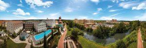Das Europa-Park Hotelresort im Panorama-Überblick. Bild: Europa-Park
