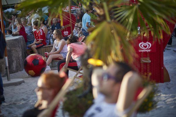 Sansibar Beach Club - Der Strandclub im Portugiesischen Themenbereich. Bild: Europa-Park