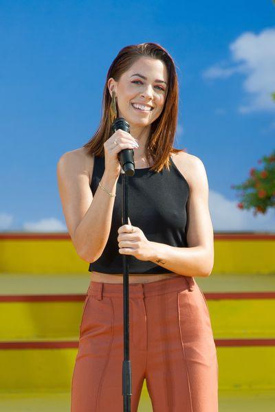"""Vanessa Mai bei """"Immer wieder Sonntags"""" im Europapark in Rust am 20.08.17 - Bild: Europa-Park"""